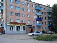 neighbour house: st. Lokomobilnaya, house 35. Apartment house