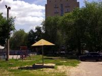 Syzran, Lokomobilnaya st, house 11. Apartment house