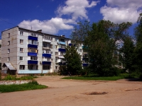 Syzran, st Lokomobilnaya, house 19. Apartment house