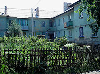 neighbour house: st. Lev Tolstoy, house 2. Apartment house