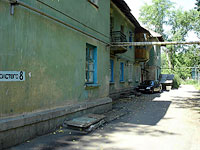 Syzran, st Lev Tolstoy, house 8. Apartment house