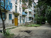 neighbour house: st. Lyudinovskaya, house 29. Apartment house