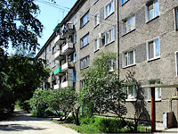 neighbour house: st. Moskovskaya, house 13А. Apartment house