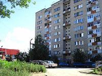 Сызрань, улица Октябрьская, дом 1. многоквартирный дом