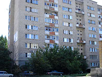 Syzran, Oktyabrskaya st, house 1. Apartment house