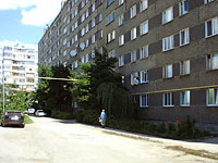 Syzran, Oktyabrskaya st, house 12. Apartment house