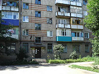 Syzran, Pobedy st, house 16. Apartment house