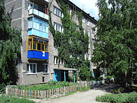 Syzran, Saratovskaya st, house 22. Apartment house