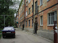 Syzran, Sovetskaya st, house 104. Apartment house