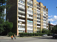 Syzran, Ulyanovskaya st, house 121. Apartment house