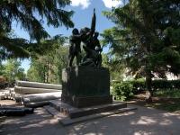 Syzran, public garden СлавыUlyanovskaya st, public garden Славы