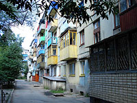 Syzran, Ulyanovskoe road, house 1А. Apartment house