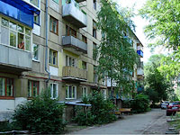 neighbour house: road. Ulyanovskoe, house 3. Apartment house