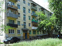 neighbour house: road. Ulyanovskoe, house 25. Apartment house