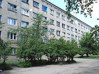 neighbour house: road. Ulyanovskoe, house 31. Apartment house