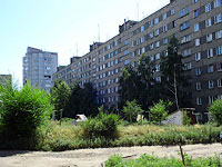 Syzran, Engels st, house 18. Apartment house