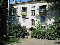 Syzran, Shkolnaya st, house 5. Apartment house