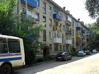 Syzran, st Zhukov, house 77. Apartment house