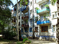 Syzran, Zhukov st, house 260. Apartment house