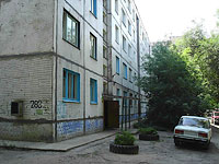 Syzran, st Zhukov, house 283. Apartment house