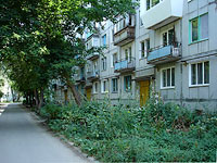 neighbour house: st. Zhukov, house 298. Apartment house