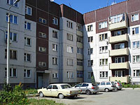 Syzran, Zhukov st, house 331. Apartment house