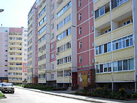 Syzran, Zhukov st, house 333. Apartment house
