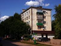 Похвистнево, улица А.Васильева, дом 12. многоквартирный дом