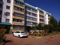 Pokhvistnevo, Berezhkov st, house 43. Apartment house