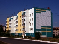 Похвистнево, улица Бережкова, дом 43. многоквартирный дом