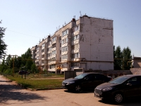 Pokhvistnevo, Berezhkov st, house 45. Apartment house