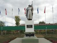 Pokhvistnevo, obelisk
