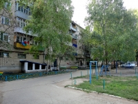 Pokhvistnevo, Gagarin st, house 17. Apartment house