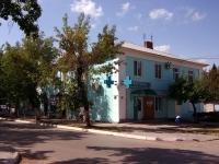 Pokhvistnevo, st Komsomolskaya, house 49. Apartment house