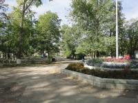 Pokhvistnevo, Komsomolskaya st, public garden