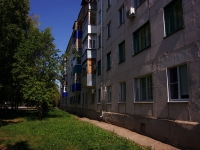 Pokhvistnevo, Lermontov st, house 20. Apartment house