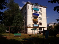 Pokhvistnevo, st Lermontov, house 24. Apartment house