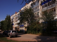Pokhvistnevo, Matrosov st, house 1. Apartment house