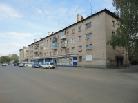 Pokhvistnevo, Mira st, house 4Б. Apartment house