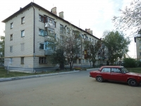 Pokhvistnevo, Mira st, house 4. Apartment house