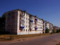 Pokhvistnevo, Stroiteley st, house 3. Apartment house