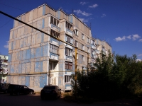 Pokhvistnevo, st Shkolnaya, house 10. Apartment house