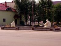 Кинель, улица Маяковского, фонтан