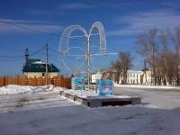 Кинель, Маяковского ул, фонтан