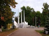 Кинель, улица Мира. памятник великим защитникам в Великой Отечественной Войне 1941-1945 гг