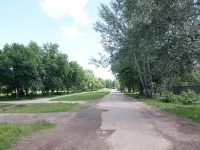 Кинель, улица Чехова, парк