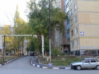 Saratov, Batavin st, house 2. Apartment house