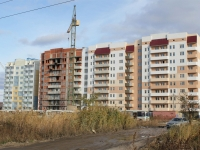 Saratov, Topolchanskaya st, house 9/СТР. building under construction
