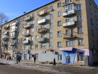 Saratov, Lebedev-Kumach st, house 61/2. Apartment house with a store on the ground-floor