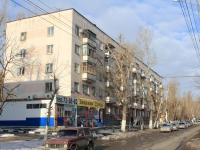 Saratov, Stroiteley avenue, house 23. Apartment house with a store on the ground-floor